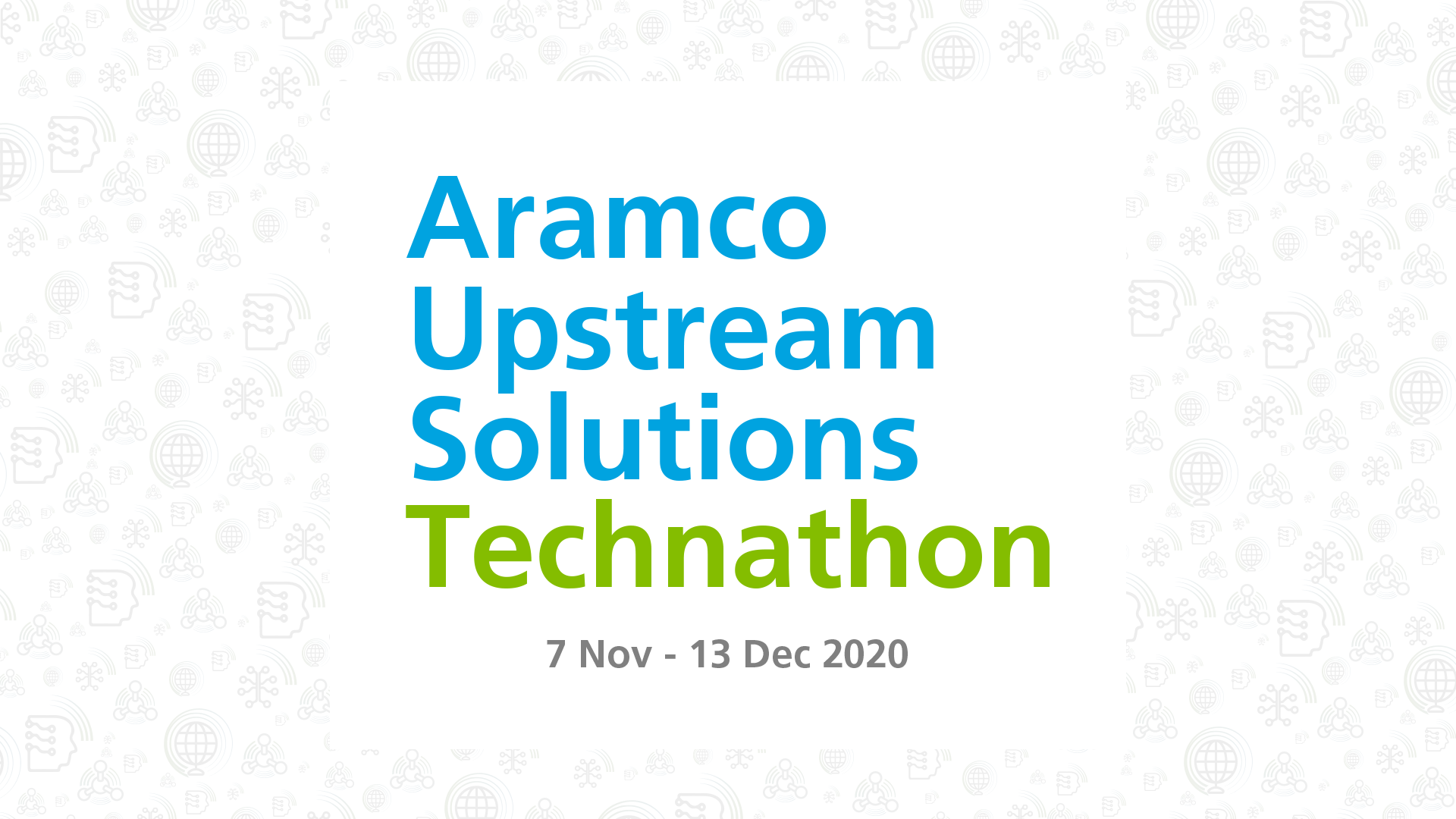 Aramco Upstream Solutions Technathon 2020